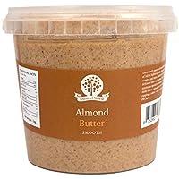 Nutural World - Mantequilla suave de almendra (1kg)