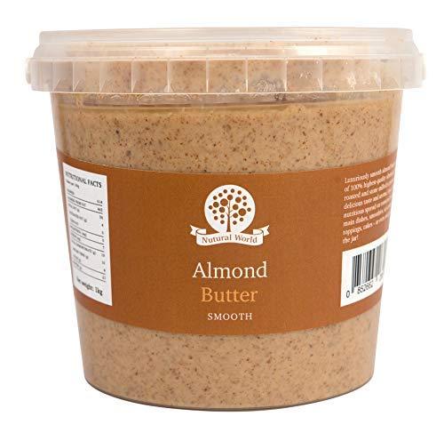 Nutural World - Mantequilla suave de almendra (1kg