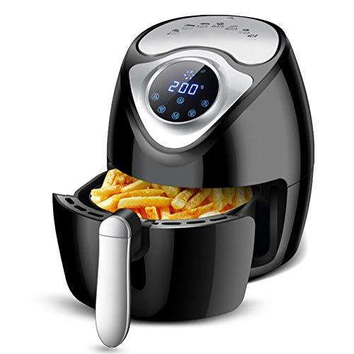 HKDJ-1300W/2,6 L Air Fryer, huishouden, rookvrij, elektrische pan, intelligente touchscreen-frituurmachine, instelbare temperatuurregeling voor vetarm koken