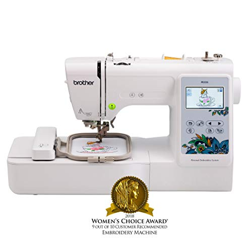 Brother Embroidery Machine, PE535, 80 Built-In Designs, Large LCD...