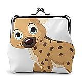 Hyena B - Monedero con hebilla impresa, bolsa de cambio, bolsa de viaje y maquillaje para hombres y mujeres
