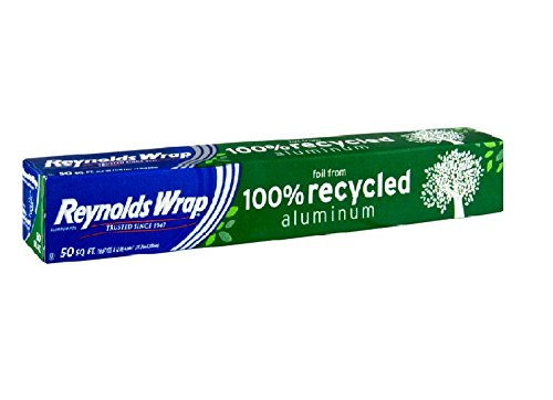 Reynolds Wrap Recycled Aluminum Foil (50 Square Foot Roll)