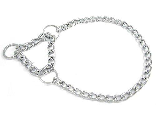 Dogs Stars Einreihige Halskette mit Zugstopp für Hunde - Zughalsband - Dressurhalsband