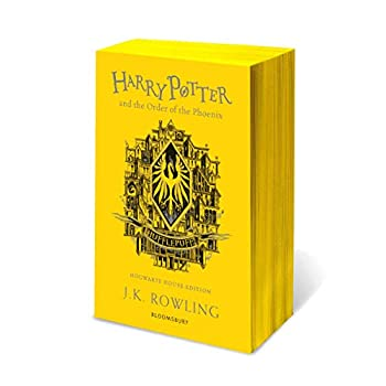 HARRY POTTER AND THE ORDER OF THE PHEONIX - HUFFLEPUFF EDITION
