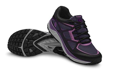 Topo Athletic Terraventure Chaussures de course pour femme, Femme, 16W181-PURBLK-75, violet/noir, 5.5 UK