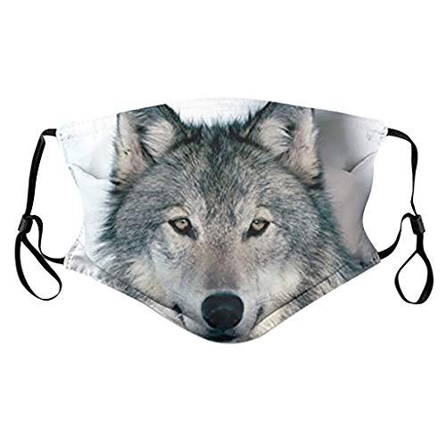 Sllowwa Bandana Damen Multifunktionstuch Schlauchtuch Sommer UV-Schutz Dünn Mundschutz Halstuch Schlauchschal(C)