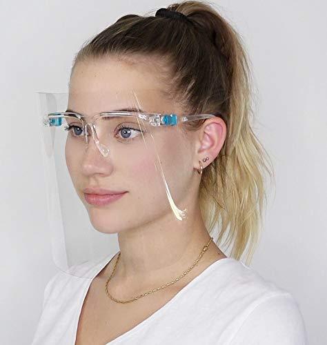 AVM® Anti-Spuck Face Shield Brille, Gesichtsvisier, Gesichtsschutz