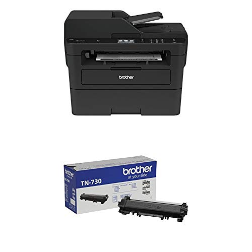 Brother Compact Monochrome Laser All-in-One Multi-Function Printer, MFCL2750DW with Standard Yield Black Toner