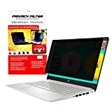AMZCOOL Laptop Privacy Screen Filter Widescreen Display - Computer Monitor Privacy Anti Glare Protector UV Protection Blue Light Reduction and Anti Scratch (14.6 Inch 16:9)