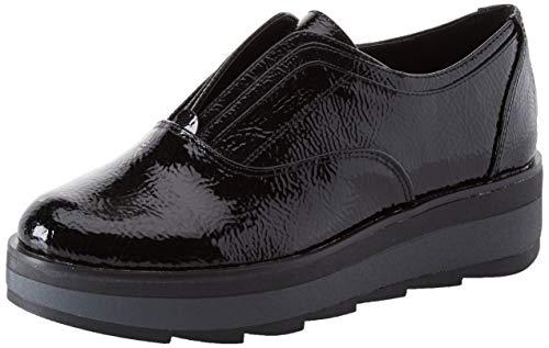 Lumberjack Evelyn, Sneaker Infilare Donna, Nero (Black Cb001), 37 EU