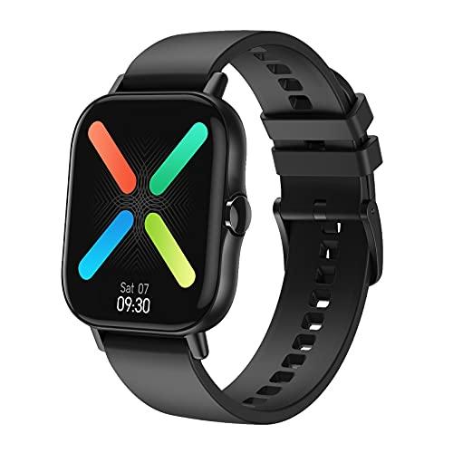 Intelligente Uhr DT94,1.78inch Touchscreen, Fitness-Tracker mit Herzfrequenz-Monitor, wasserdichte IP67-Aktivität Tracker Watch Pedometer Stoppuhr, Smart Watch für Männer Frauen für iPhone Android-Tel