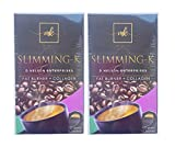 2 Boxes SLIMMING-K Coffee by Madam Kilay, Fat Burner + Collagen Mix Drink - 21g x 20 Sachets