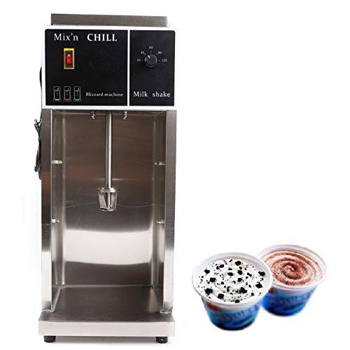 Ice Cream Mixer Machine 110V 350W Electric Auto Bli-zzard Mc-flurry Shaker Blender Mixer for Commercial