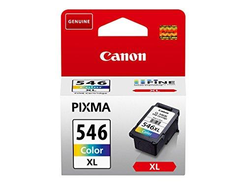 Canon CL-546XL Cartucho de tinta original Tricolor XL para Impresora de Inyeccion de tinta Pixma, 13 ml