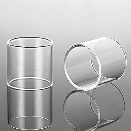 Qingtian-ceg 2pcs Ersatzglasbehälter für UD Zephyrus/Zephyrus v2-Transparent,Frei von Tabak und Nikotin (Bundle : Zephyrus v2, Color : Clear)