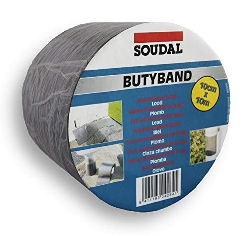 Soudal Butyband Selbstklebendes Fugendichtband – 10 m x 100 mm