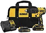 DEWALT 20V MAX Hammer Drill, Compact Kit, Cordless, 1/2-Inch (DCD778C2)