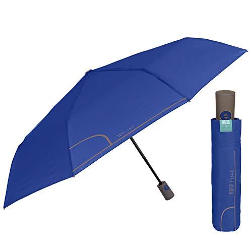 Paraguas Plegable Mujer Abre y Cierra Automático de Color Sólido- Sombrilla Pequeño...
