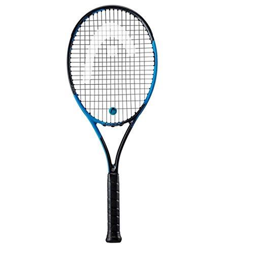 Raquetas De Tenis, Individual para Hombres Y Mujeres Carbono Profesional Raqueta para Adultos (Color : Black, Size : 69cm 27 Inches)