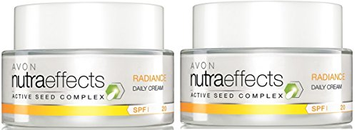 AVON NutraEffects Tagescreme RADIANCE - 2x 50 ml