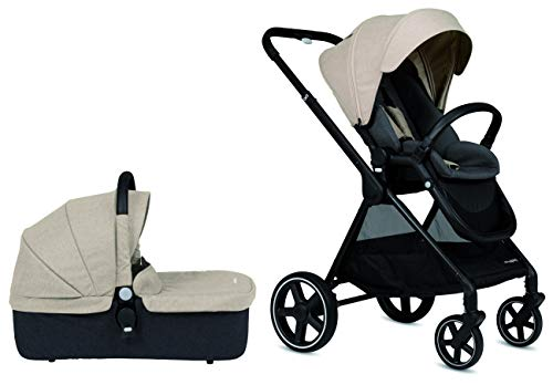 Cochecito de paseo Casualplay Optim con capazo, color sand