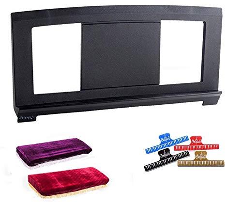 Soporte de música de Estados Unidos compatible con algunos teclado Yamaha Music Score Stand +cubierta de polvo (38'x18') Partituras soporte (+1clip)