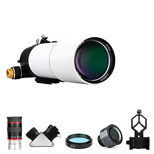 ANZQHUWAI 80 / 90mm telescopio Refractor Profesional
