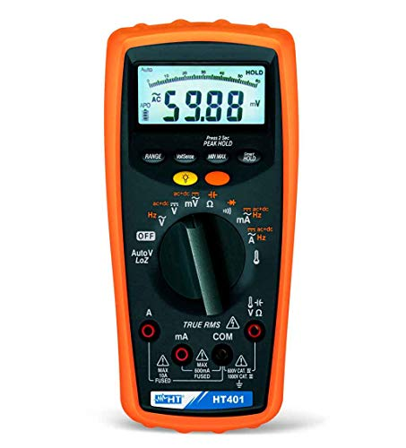 HT Instruments HT401 Professional AC+DC TRMS Multimeter