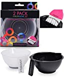 Framar Color Bowl with Cleaner Set – Mixing Bowls – For Hair Color, Hair Bleach, Hair ...