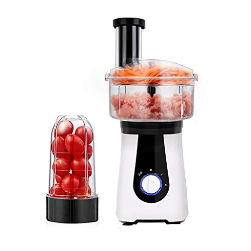A Petit Robot électrique Robot de Cuisine mélangeur Chopper râpe trancheuse Presse-Agrumes pour la Viande, légumes, Fruits