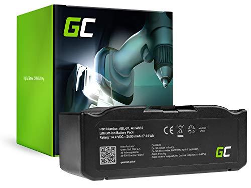 GC® (2.6Ah 14.4V Li-Ion Pile) ABL-D1 4624864 70140 Batería para iRobot Roomba e5, e6, i3, i3+, i7, i7+, i8, i8+ Series de Aspirado