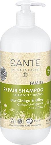 Sante Naturkosmetik Kur Shampoo Bio-Ginkgo und olive, 950 ml