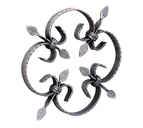 UHRIG ® #553 NEU! Schmiedeeisen Ornament Gitter Fenstergitter Stahl Eisen geschmiedet