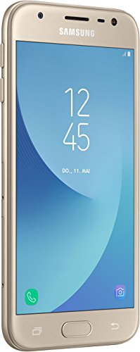 "Samsung Galaxy J3 (2017) SM-J330F 5"" Telefono Doppia SIM 4G 2GB 16GB 2400mAh Oro"