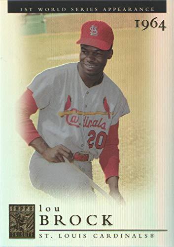 2003 Topps Tribute Baseball World Series #14 Lou Brock 64