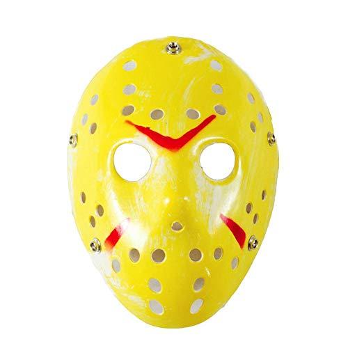 Máscara de plástico para disfraz de Jason