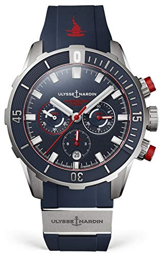 Ulysse Nardin Diver Hammerhead Shark 44mm Limited Edition of 300 Pieces Mens Watch 1503-170LE-3/93-HAMMER