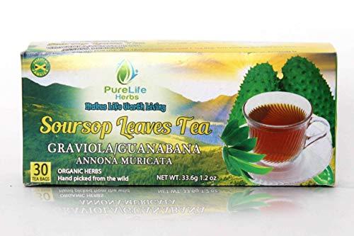 Organic Graviola Tea/soursop tea-30 bags- Purelife herbs