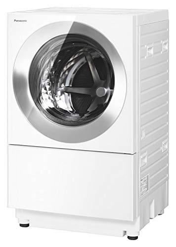 パナソニック ななめドラム洗濯乾燥機 Cuble(キューブル) 10kg 右開き 液体洗剤・柔軟剤 自動投入 ナノイーX フロストステンレス NA-VG1500R-S