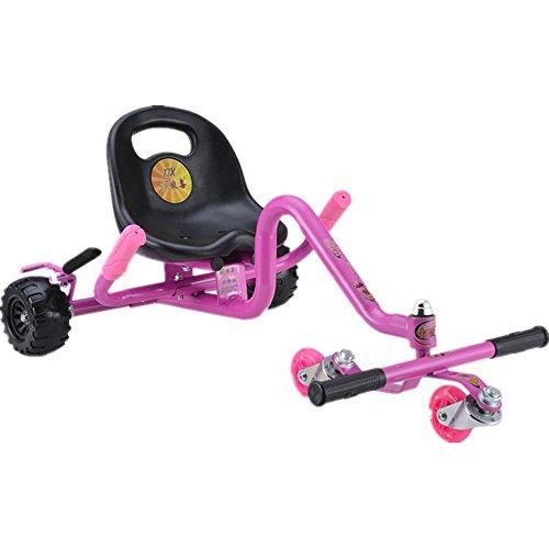 Voiture de jouet pour enfants de ZDDAB Multi-purpose, voiture de torsion de bébé, scooter d'école, voiture de pédale de coup de pied de roue de Flash des enfants 4, appropriée pour le bébé de 2-8 ans
