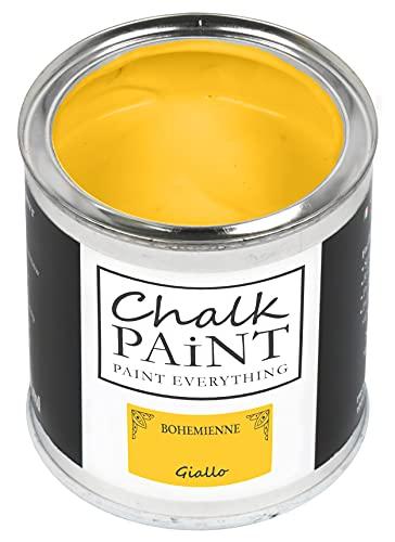 Chalk Paint Amarillo 750 ml – Sin lijar Colorea fácilmente todos los materiales