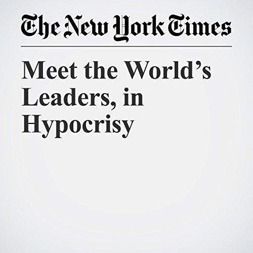 Meet the World's Leaders, in Hypocrisy copertina