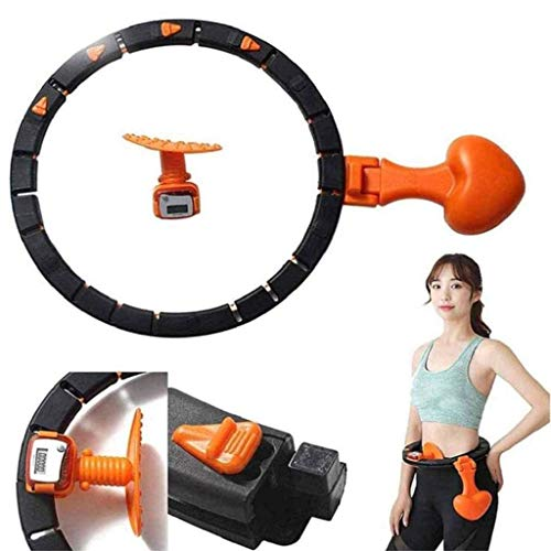 Purchase Smart hula hoop, Fitness counter weight ring electronic counter hula hoop, Removable 360 °...
