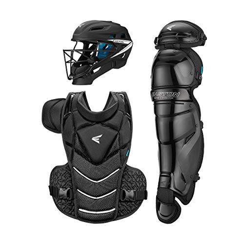 EASTON JEN SCHRO THE VERY BEST Catcher's Equipment Box Set Kit, Medium, Black