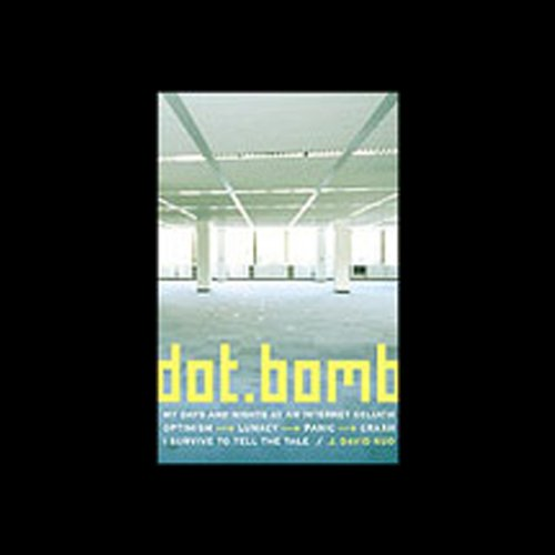 Dot.Bomb audiobook cover art