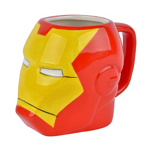 Taza Iron Man, 3D 384.45 ml