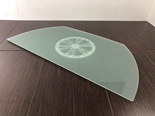 Tecnidea Base TV Girevole GK88/50 Dimensioni Lato Frontale cm 88x50 Disco Nero - Portata kg 40