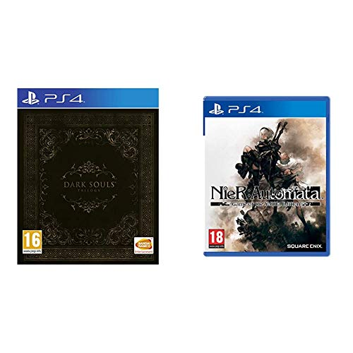 BANDAI NAMCO Entertainment Iberica Dark Souls Trilogy + Square Enix NieR: Automata Game of the YoRHa Edition PlayStation 4 [Importacion inglesa]