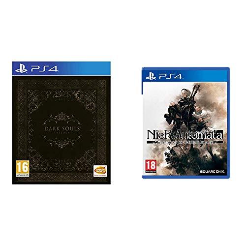 BANDAI NAMCO Entertainment Iberica Dark Souls Trilogy + Square Enix NieR: Automata Game of the YoRHa Edition PlayStation 4 [Importacion inglesa]