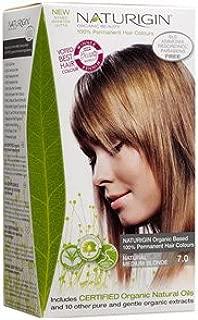 Naturigin Hair Colour - Permanent - Natural Medium Blonde - Certified Organic Ingredients (Pack of 2)